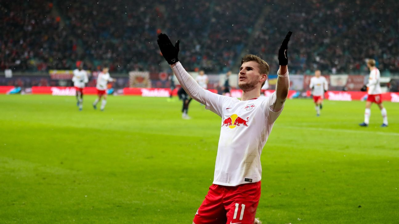 Chelsea confident in landing top target Werner from RB Leipzig
