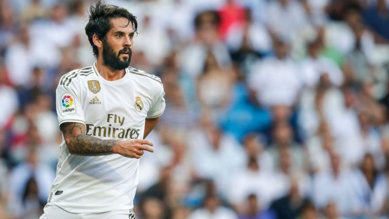 Madrid offer Chelsea Isco to pave way for Eriksen deal