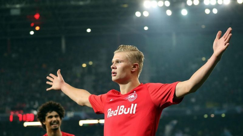 FC Salzburg's Erling Haaland 'living the dream' ahead of Liverpool clash