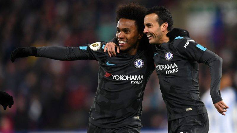 Chelsea's Willian, Pedro, Emerson Palmieri in Juventus' sights