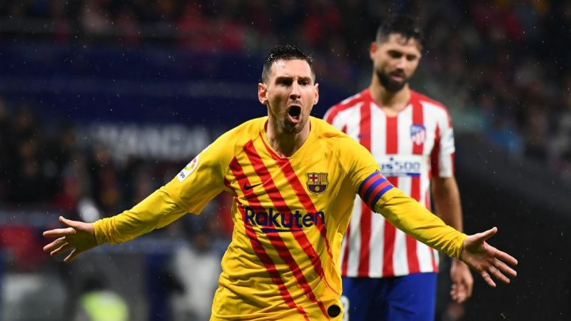 Messi magic rescues Barcelona once more in 9/10 showing at Atletico Madrid