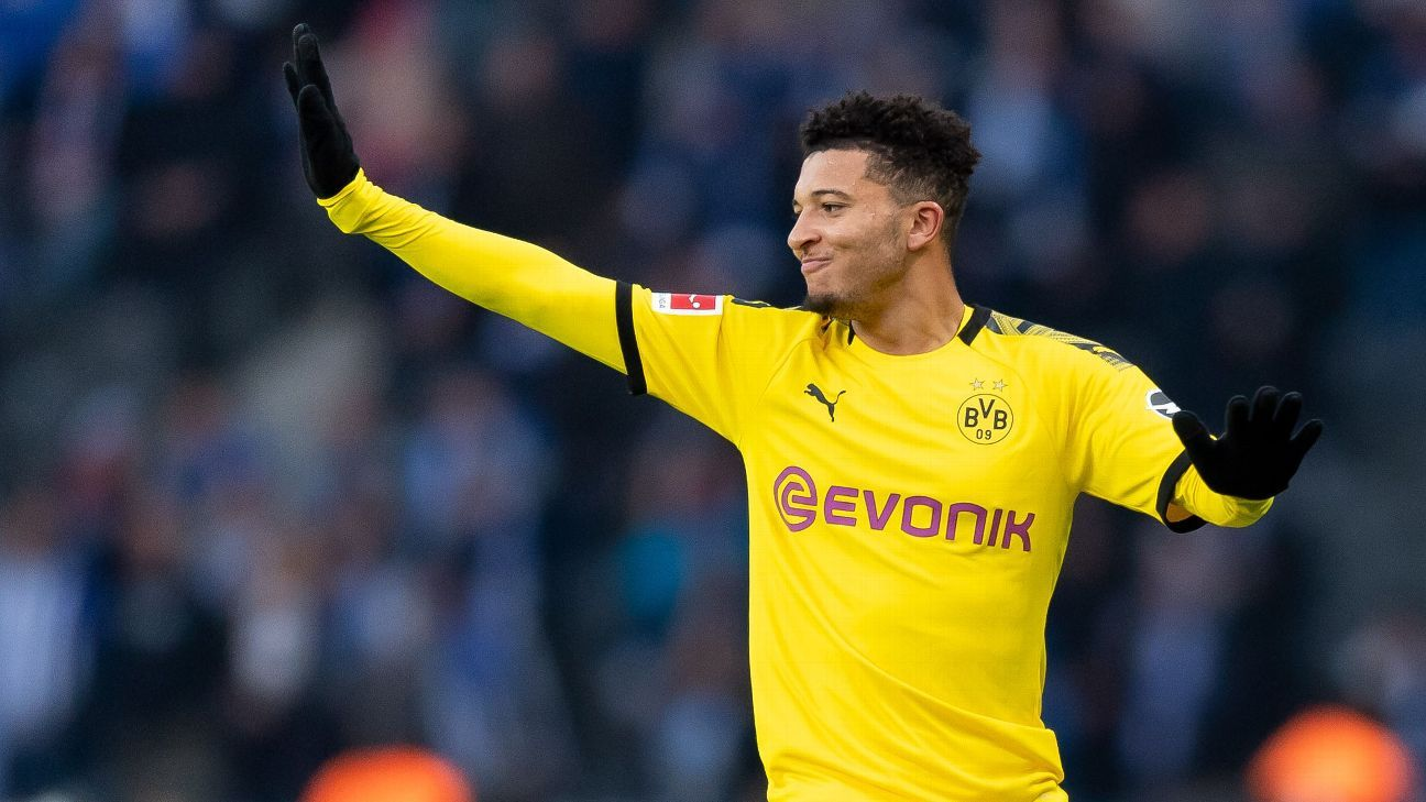 Sancho is Chelsea's top target after transfer ban reduced