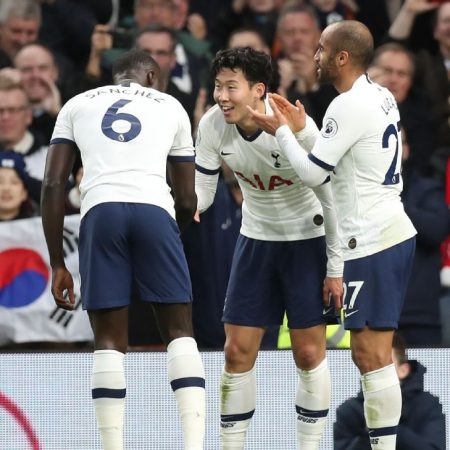 Son, Kane both 8/10 as rampant Spurs hit five vs. Burnley