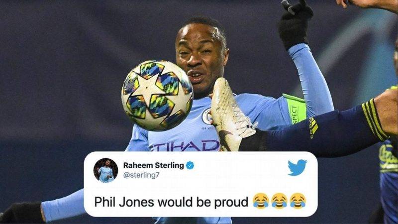 Raheem Sterling joins Phil Jones among soccer stars snapped pulling funny faces