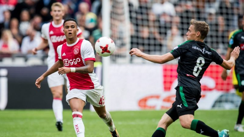 Ruben becomes third Kluivert to turn professional, signs deal with FC Utrecht