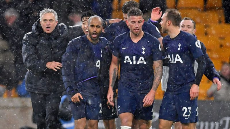 Tottenham's late win was classic Jose Mourinho