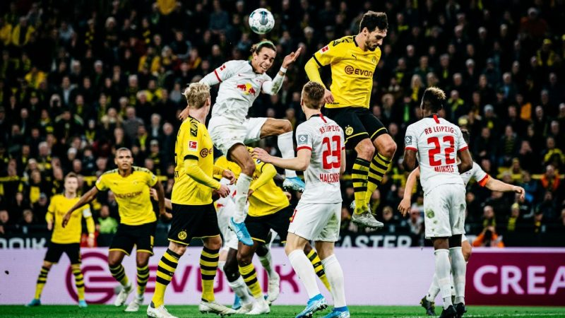 Dortmund-Leipzig thriller plays out amid backdrop of Erling Haaland pursuit