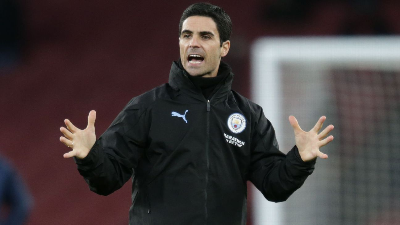 Arteta remains a gamble but it's time for Arsenal to roll the dice
