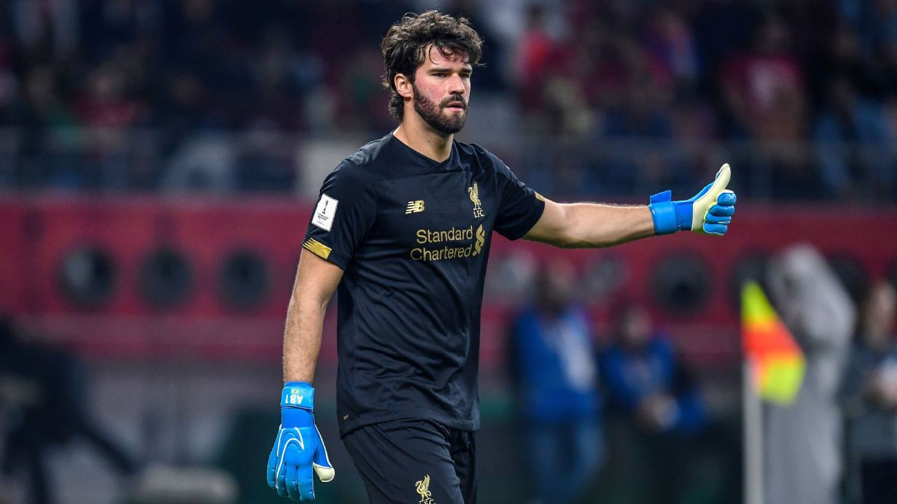 Liverpool's Alisson Leicester match is 'decisive' in Premier League title bid