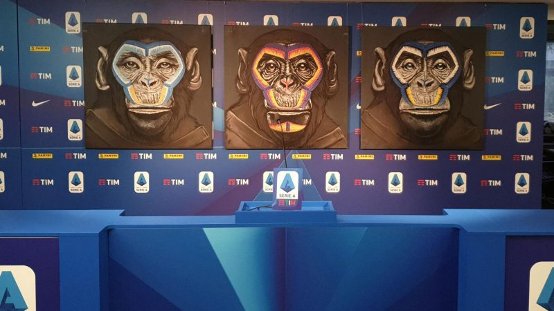 Serie A chief apologises for 'inappropriate' monkey artwork