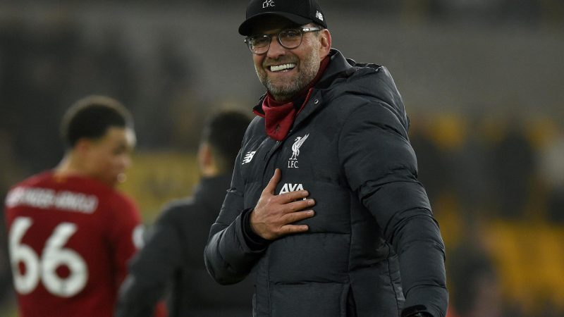 Jurgen Klopp dismisses talk of pressure as Liverpool secure narrow win over Wolves