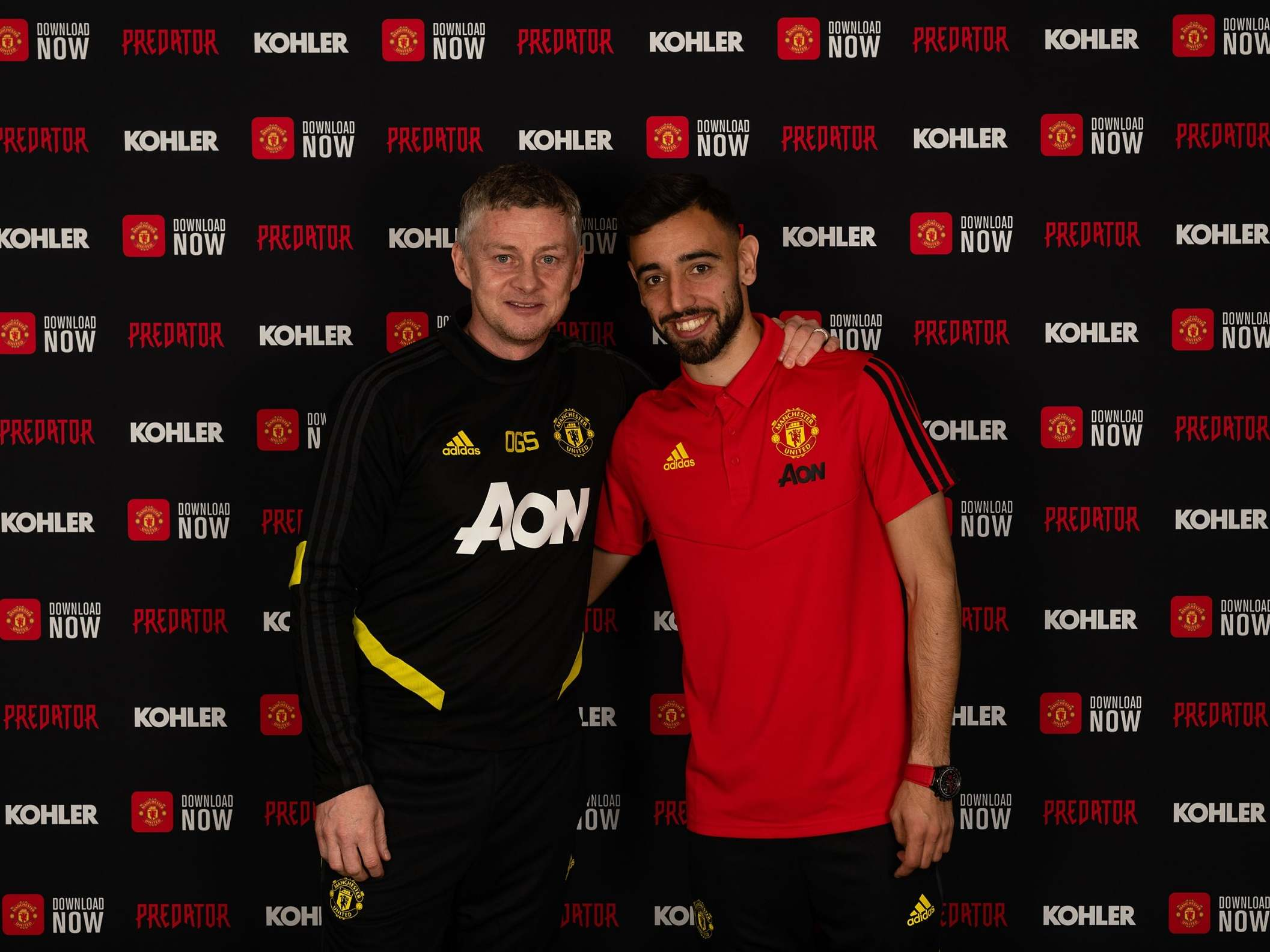 Bruno Fernandaes reveals why he fell in love with Manchester United