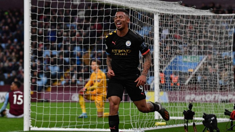 Gabriel Jesus relishes studying 'Premier League legend' Sergio Aguero