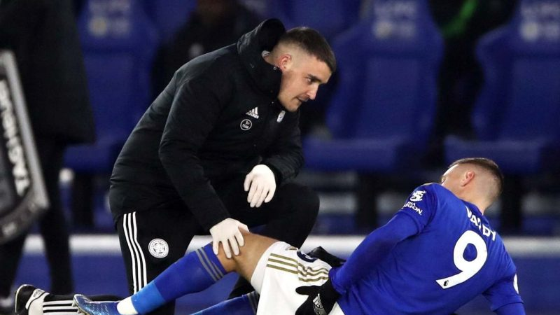Jamie Vardy injury: Leicester's Brendan Rodgers allays fears of major injury