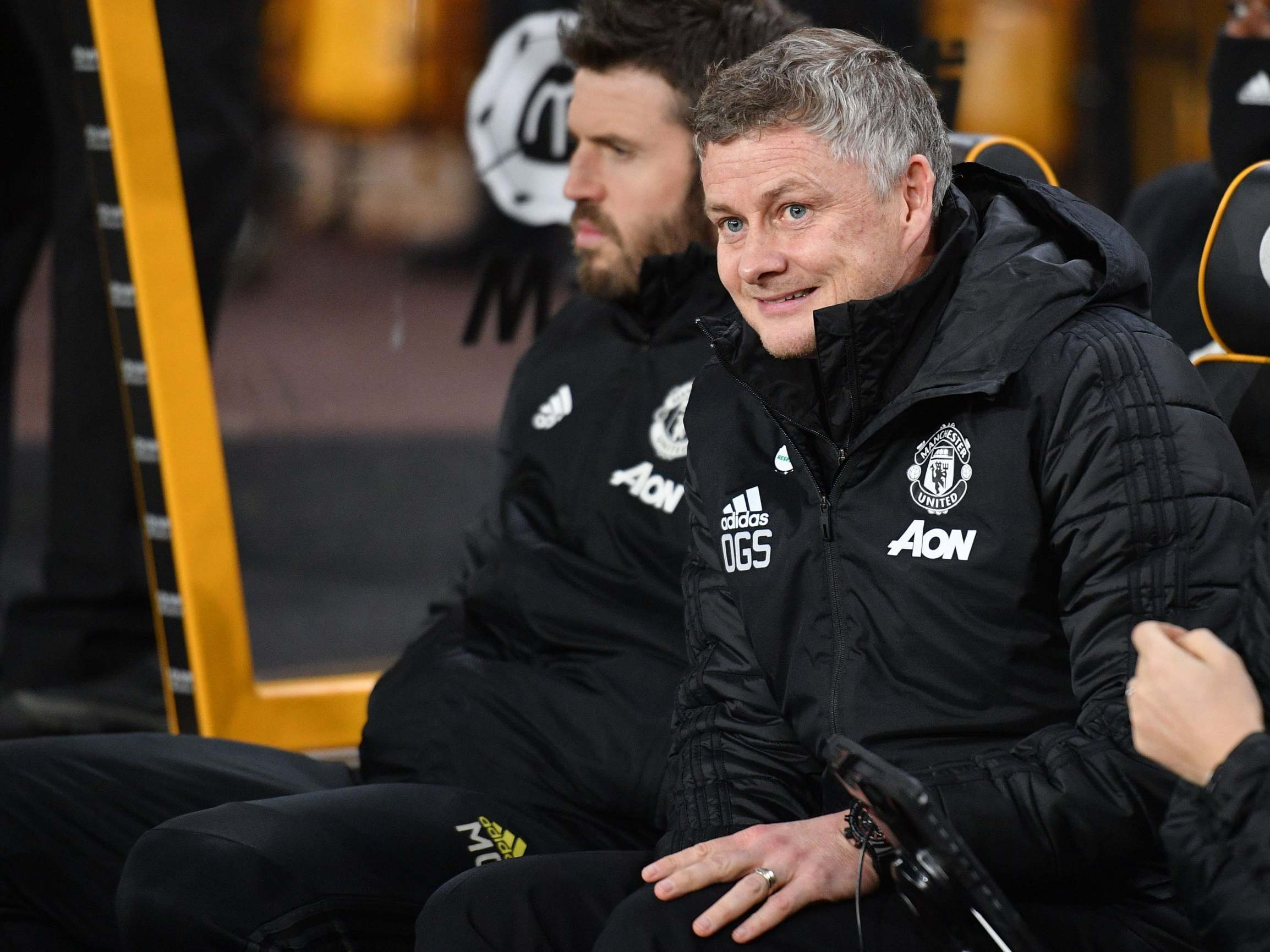 Manchester United manager Solskjaer reveals half time team talk after City defeat