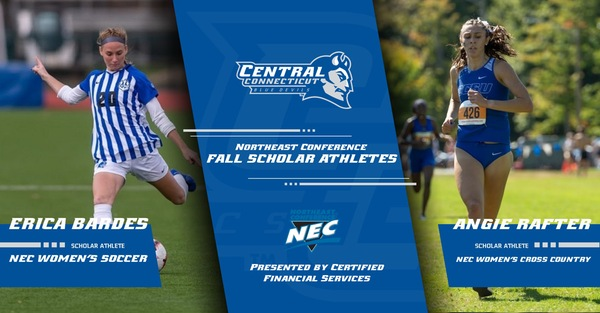 Two Blue Devils Named NEC Fall Scholar-Athletes