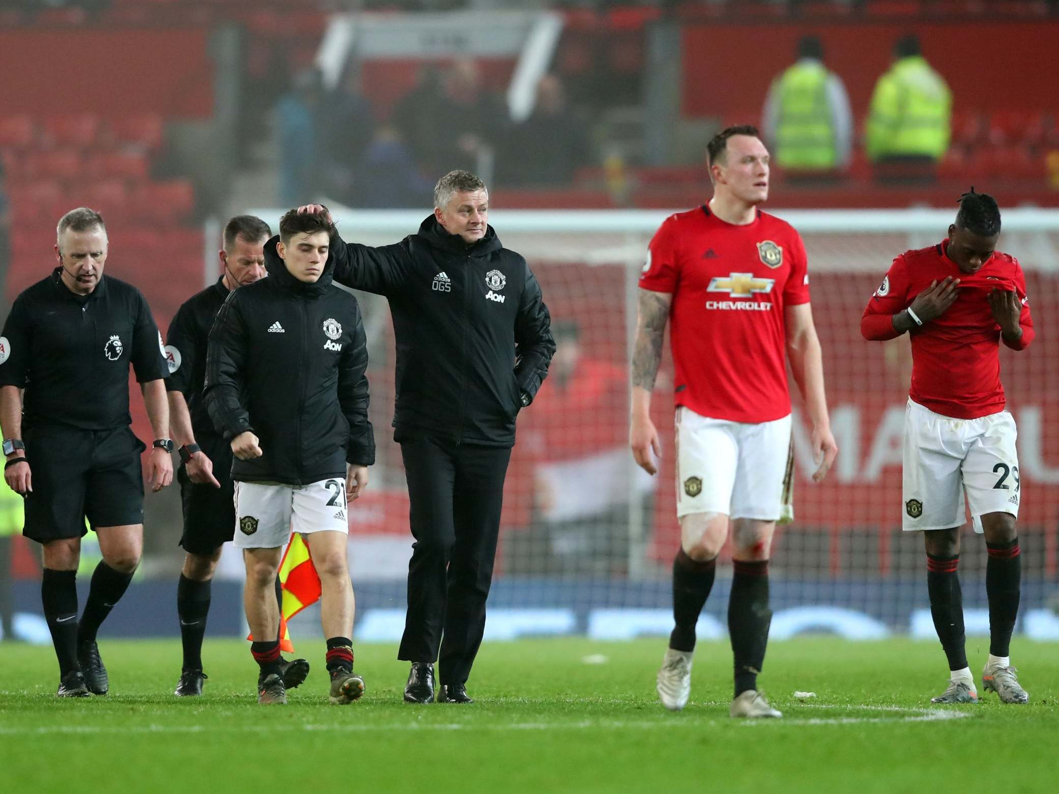 Ole Gunnar Solskjaer admits feeling 'disillusioned' after Burnley loss