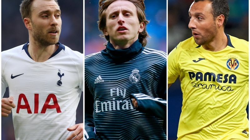 Transfer news: The 70 players available for free this summer