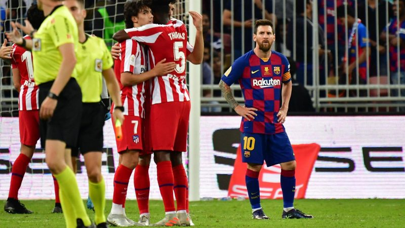 Atletico Madrid beat Barcelona to set up Spanish Super Cup final clash with rivals Real Madrid