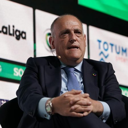 La Liga president Javier Tebas condemns Fifa and claims Manchester City should face 'penalty'