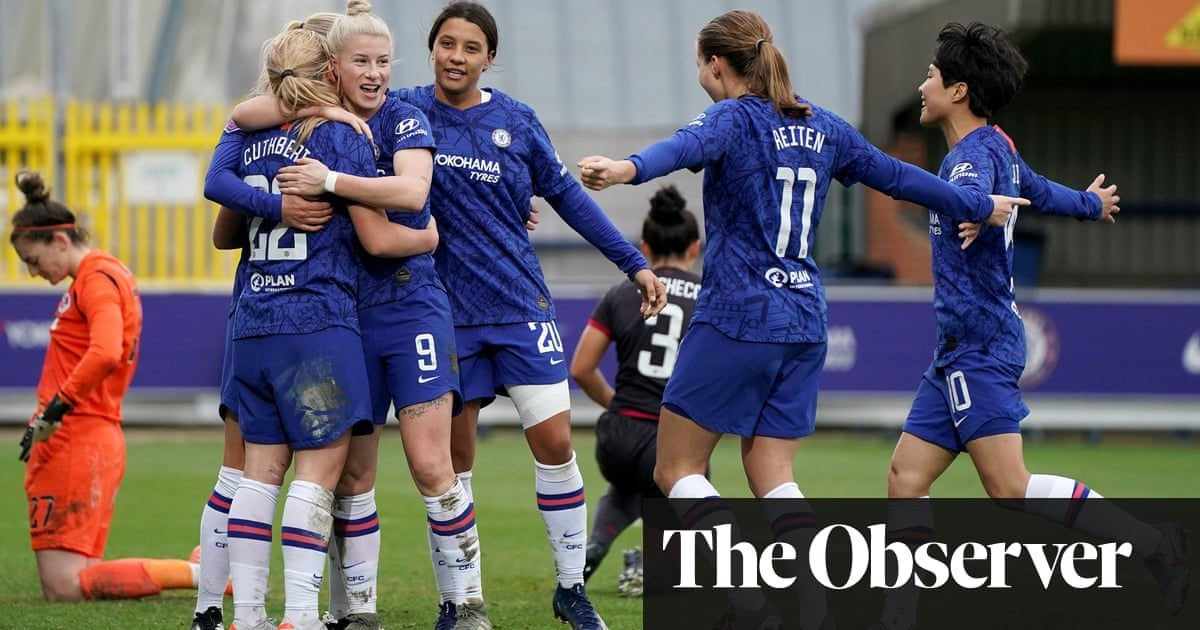 [Women's Super League] Chelsea look to bridge the gap against Arsenal and reboot WSL title push. Emma Hayes' side have to win their game against the Gunners to have a realistic chance of overhauling the leaders : WomensSoccer