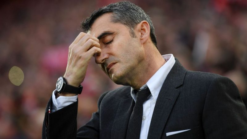 Barcelona set to sack manager Ernesto Valverde, hire Quique Setien