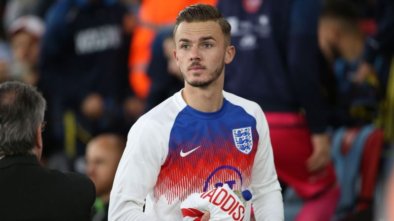 Manchester United haven't given up on summer move for James Maddison