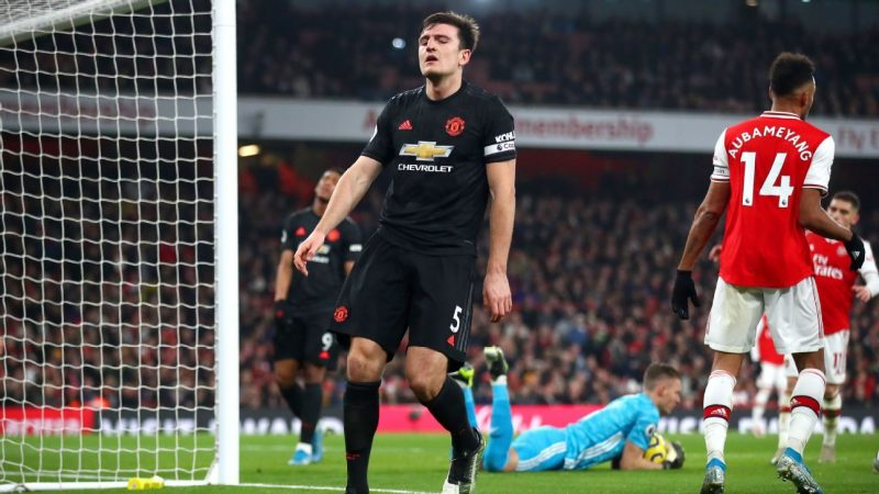 Manchester United's Harry Maguire out with muscle tear in hip