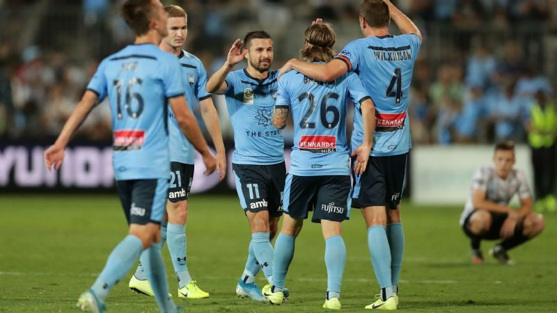 Sydney FC start 2020 nine points clear at the top