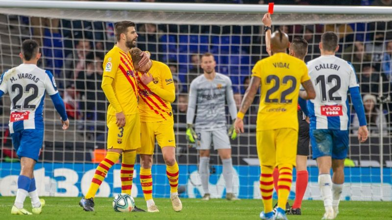 Barcelona's De Jong gets 4/10 as miscues prove costly in Espanyol draw