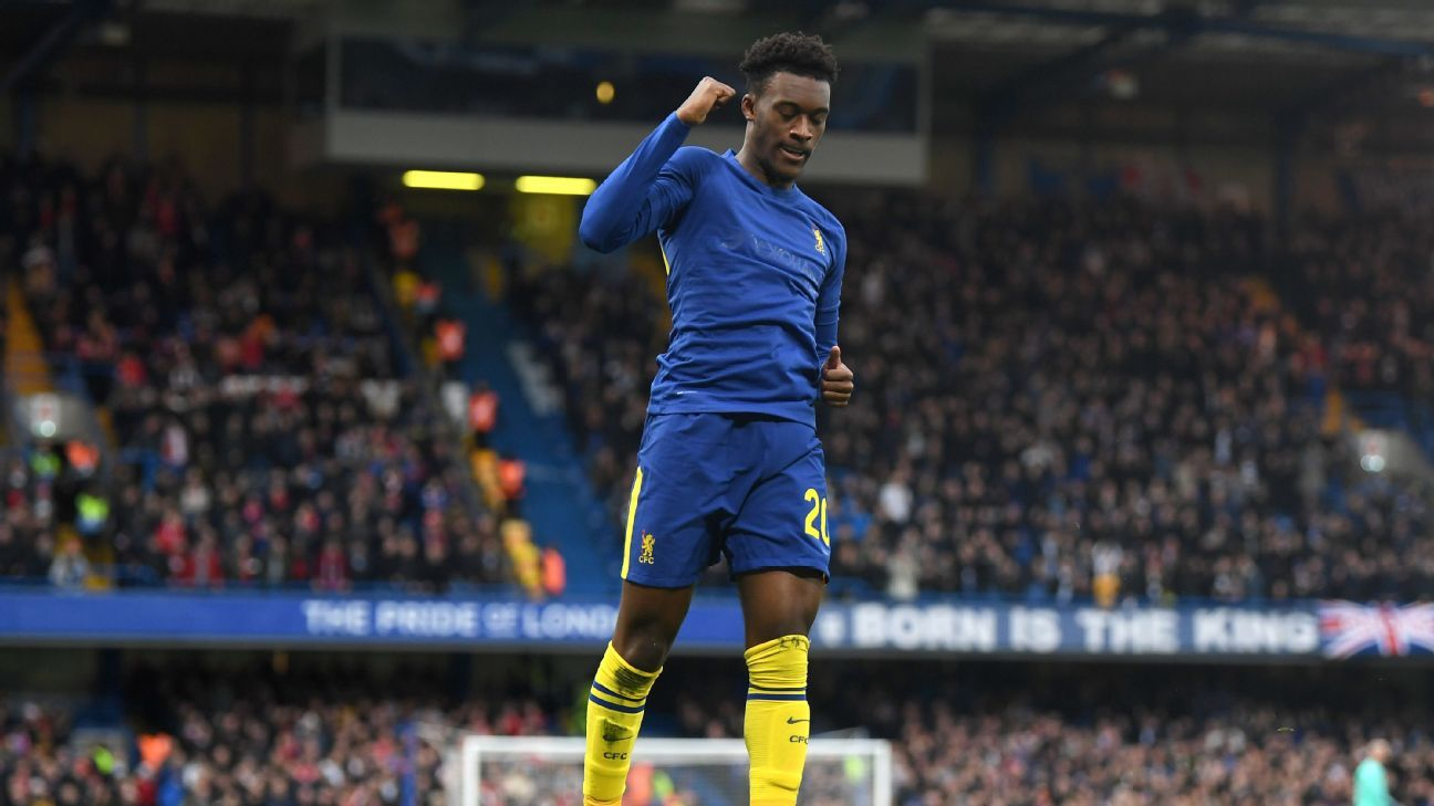 Chelsea's Hudson-Odoi comes full circle in FA Cup repaying club's faith in him amid 12 months of uncertainty