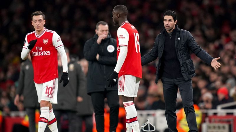 Arteta 'shouted a lot' during half-time of Leeds win