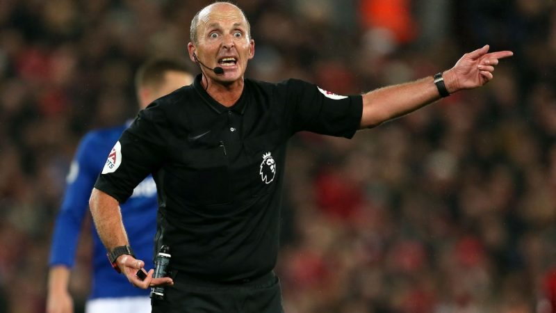 Celebrating the very best of Premier League referee Mike Dean
