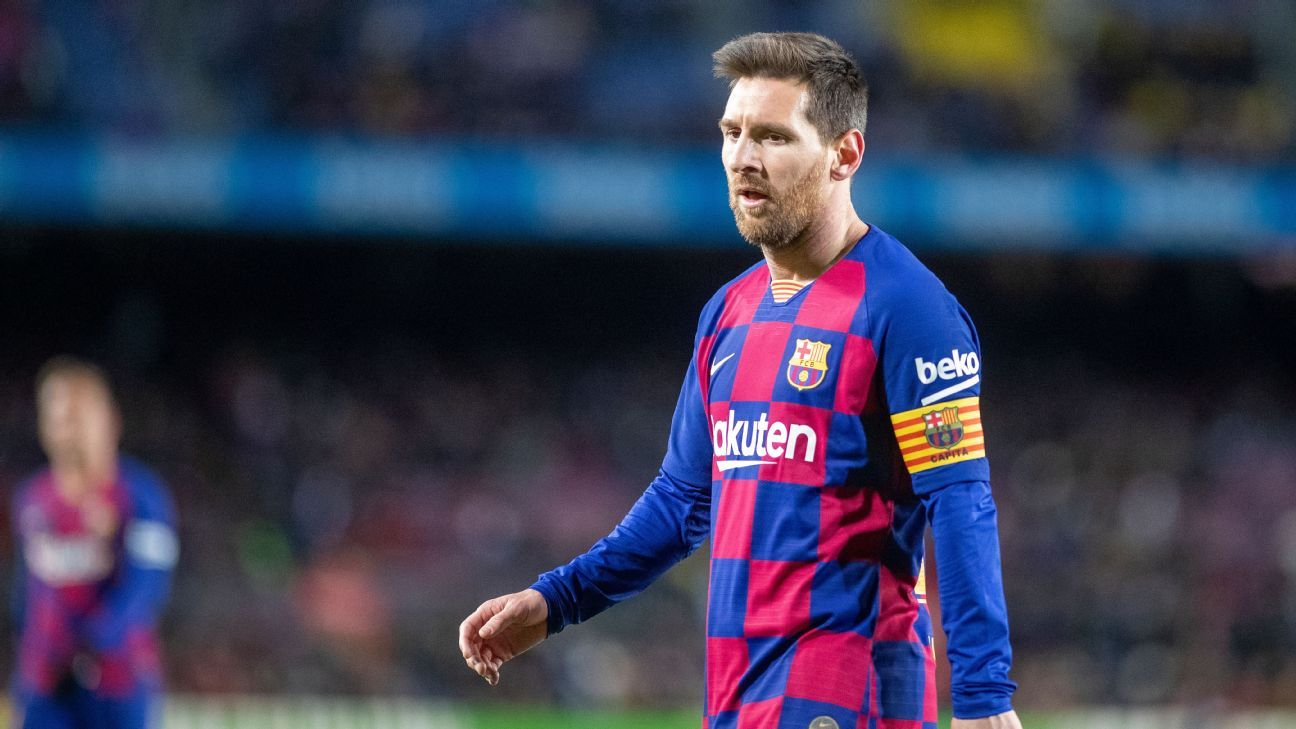 Manchester City monitoring Messi situation after Barcelona row