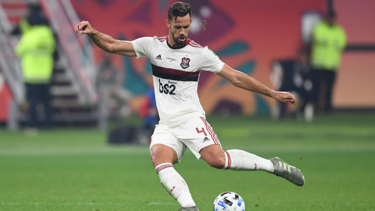 Arsenal deal to sign Flamengos Pablo Mari collapses sources