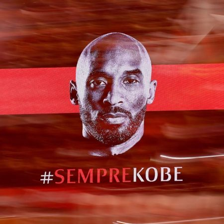 Kobe Bryant honoured ahead of AC Milan's Coppa Italia match