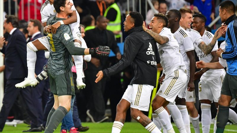 Real Madrid lift Spanish Super Cup after beating Atletico on penalties