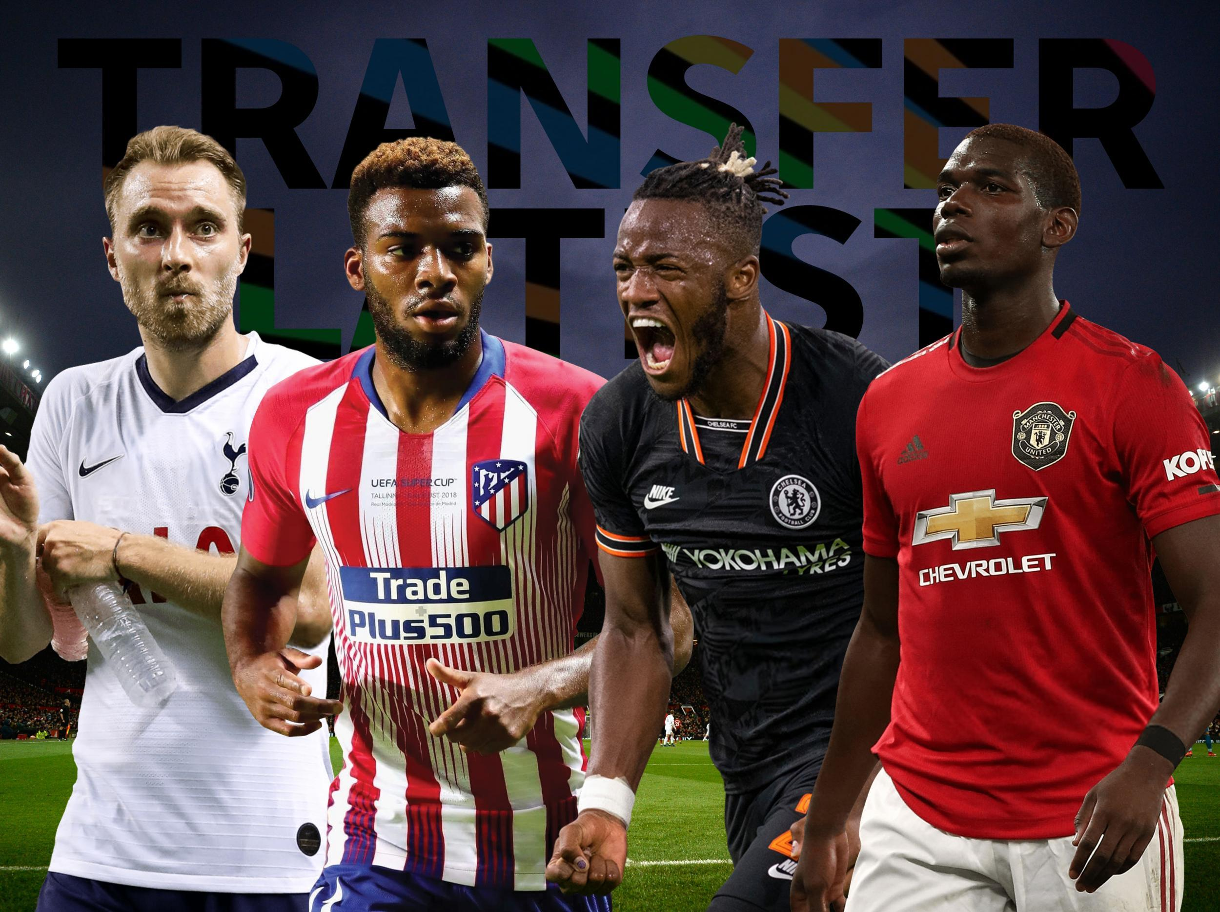 Transfer news LIVE: Arsenal, Chelsea, Manchester United and Tottenham gossip and rumours today