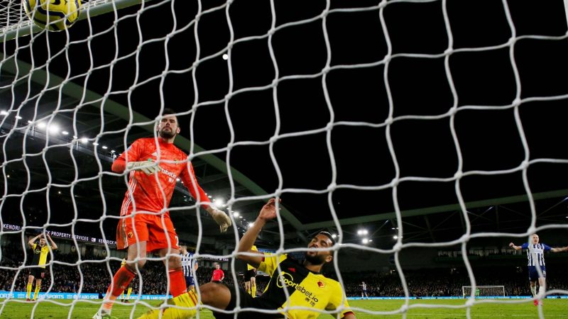 Brighton vs Watford result: Adrian Mariappa own goal gifts Seagulls crucial point against relegation rivals