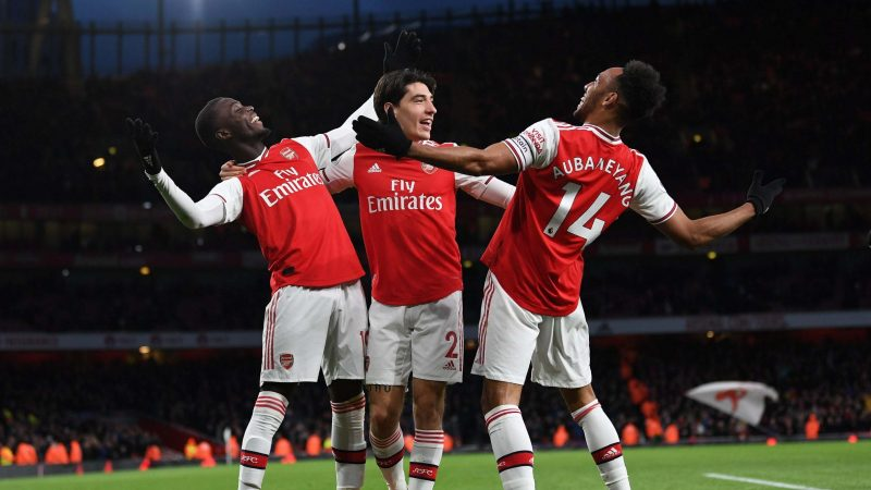 Arsenal vs Everton result: Pierre-Emerick Aubameyang leads Gunners to victory