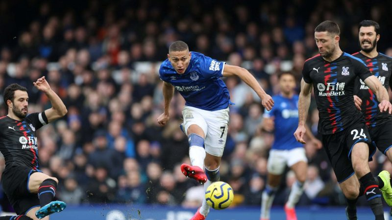 Everton vs Crystal Palace: Bernard, Richarlison and Dominic Calvert-Lewin on target in latest victory