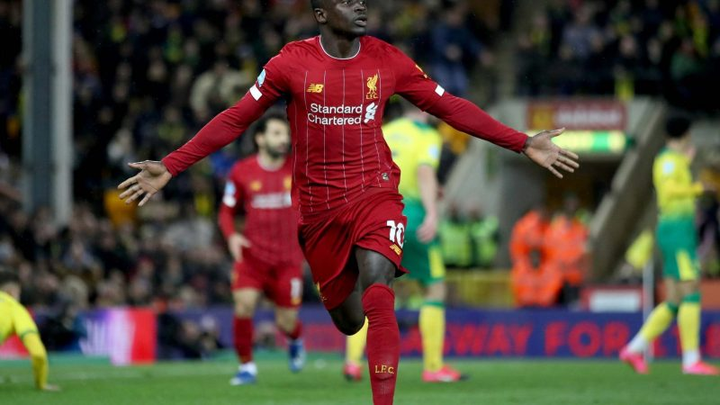 Norwich vs Liverpool result: Substitute Sadio Mane snatches victory as Reds go 25 points clear