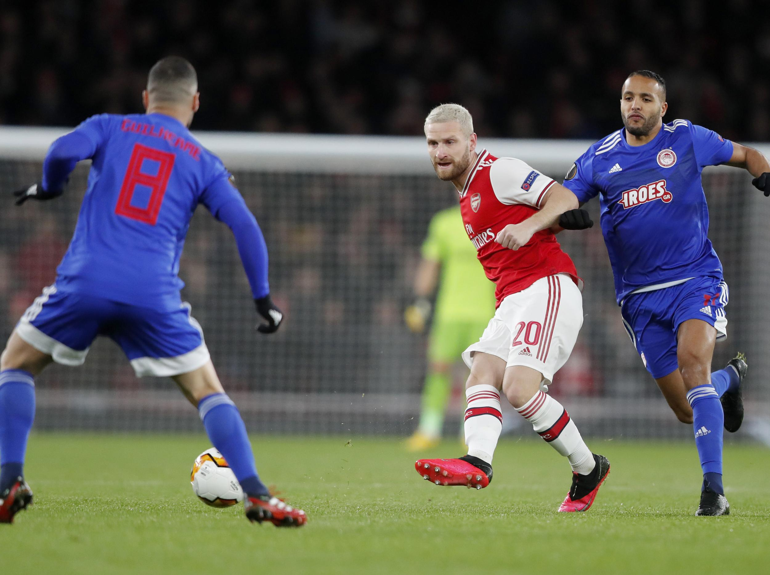 Arsenal vs Olympiacos LIVE: Latest Europa League updates tonight