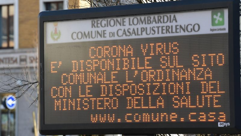 Coronavirus: Three Serie A matches suspended over fears of deadly virus outbreak