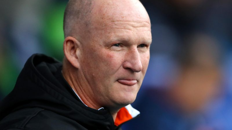 Blackpool sack manager Simon Grayson