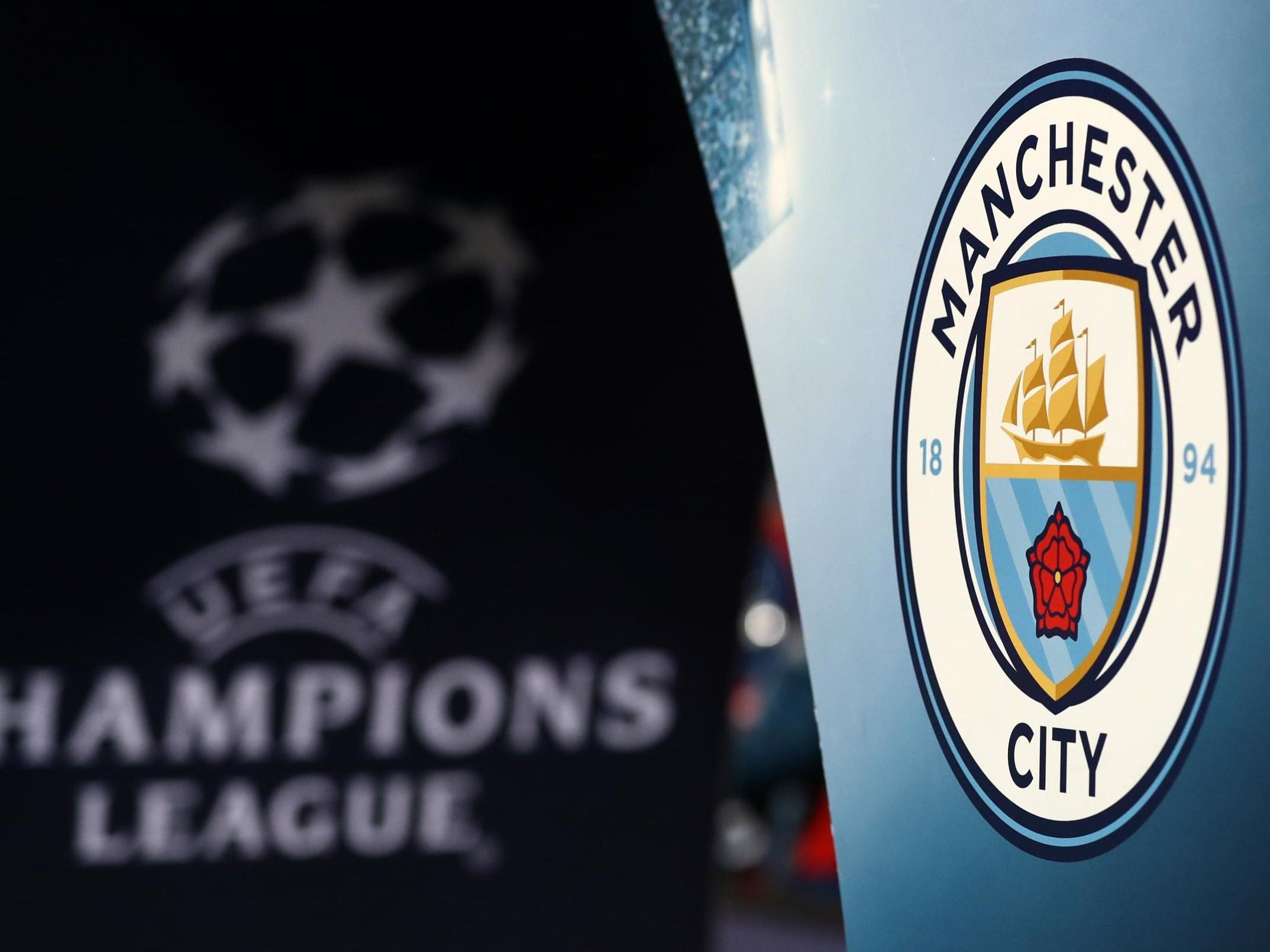 Man City banned from Champions League for two seasons and fined €30m by Uefa