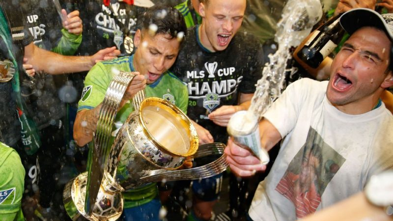 Seattle on top, LAFC No. 2; Inter Miami has a long way to go
