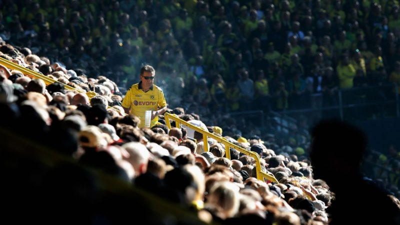 Best job ever Borussia Dortmund fans want beer carrier paid in drinks and match tickets