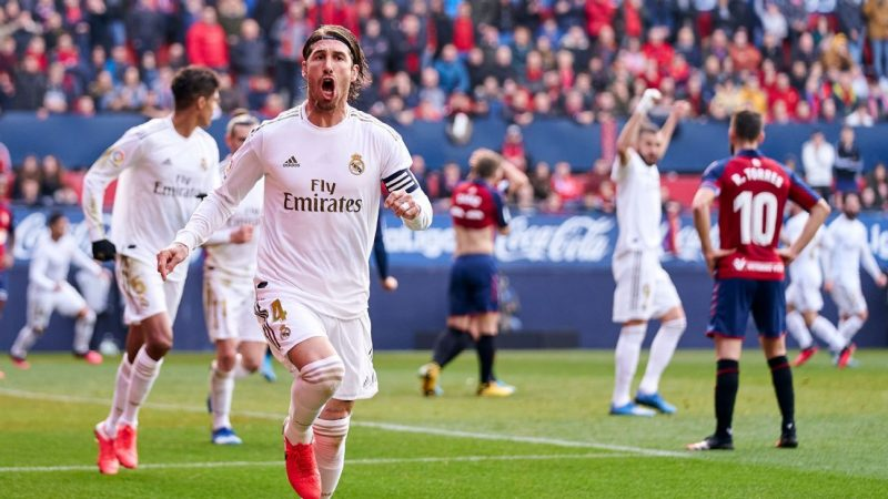 Osasuna vs. Real Madrid – Football Match Report – February 9, 2020