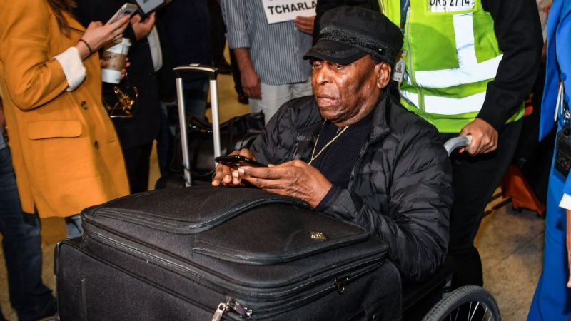 Pele depressed won't leave house over health issues